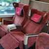 四国で一番豪華なグリーン車に乗って旅行の最終目的地へ・・・(旅行6日目②)