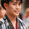 京都チーム「櫻嵐洛」:2017よさこい全国大会(8月12日、高知、帯屋町筋商店街)