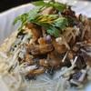 タイカレー風、カジキマグロのスープ仕立て