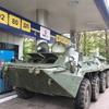 ウクライナで装甲車運転と射撃ツアー!