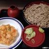 富士そばの「特もりそば」は、小腹が空いた時に丁度良い