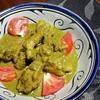 【インド料理レシピ】コリアンダー・チキンコルマ ~ 緑色のこってりカレー
