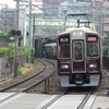 鉄道の日常風景45…阪急京都線、南方駅と淡路駅20190527
