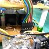 早押し機の修理。ヘッダーピンの接触不良(プリント基板のパターン切れ)でした。