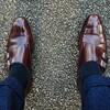 お気に入りの靴、ペルチャで出勤!