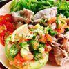 オクラ入り【辛くないサルサソース】(動画レシピ)/Not spicy Salsa sauce with okra.