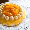 マンゴーとレモンのケーキ