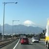 富士山を眺めながら