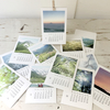 saorinオリジナル・2019山写真卓上活版カレンダー、できました