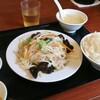 白楽【知味軒】ランチ 肉野菜炒め ¥680