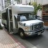ハワイ旅行 ヒルトン ハワイアン ビレッジから 往復$10の送迎バスで ワイケレプレミアムアウトレットへ