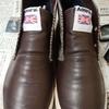 合皮の靴にはクレポリメイト…?