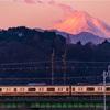 赤富士から始まる朝