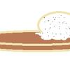 個人的にもの申したい件。パンケーキにアイスが乗せられてることがある。