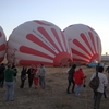 トルコ旅行(2) 初日 気球ツアーへ出掛ける 2010/09/17(金)