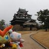 正月旅行 厳冬の山陰旅 冬の松江城を観光