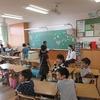 2年生:教育実習の先生とお別れ