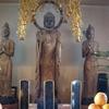 円福寺の重文阿弥陀如来坐像と県指定文化財の阿弥陀三尊立像 ~ご本尊がきれいだと思ったら、西村公朝さんが修復されていたのです~(東茨城郡茨城町)