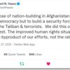 not A but B, A not B (アメリカは、何のためにアフガニスタンに介入したのか)