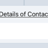 Get Details of Contacts