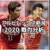 【アルビレックス新潟】2020移籍情報・スタメン予想(2/8時点)