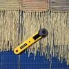 手織の仕上げ