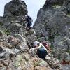 <山行記録> 南八 硫黄岳・横岳 ~初めてのハシゴと鎖~ 2017.8.27