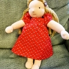 【コロナと私⑤】我が子の誕生日に、手作りのウォルドルフ人形を・3(身体・顔編)