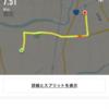 陸走の練習。熊本城マラソンに向けて