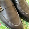 靴のお手入れをする日。