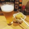 広島一軒目、魚が光る立ち飲みへ。