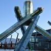 バンクーバー オリンピック記念碑と朝の散歩 2016 北米旅行記 その21