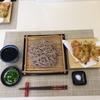 ランチは天ぷら蕎麦