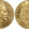 フランス1865年Aナポレオン3世100フラン金貨PCGS MS64