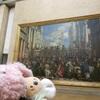 巨大な絵画とモナリザさん♪ルーブル美術館♪ハネムーン旅行記♪───O(≧∇≦)O────♪