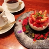 【八王子】コーヒー専門店パペルブルグで苺のレアチーズケーキ