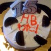 渡の15歳の誕生日