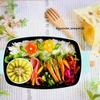 2色のお花ご飯弁当*朝のキッチン滞在時間30分以内!簡単で見た目も可愛く!?女子高生のお弁当