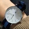 ダニエルウェリントンそっくり!ダイソーの時計を買ってカスタマイズ?しました。
