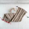 ダイソーのウールロービングで編むスヌード(3)