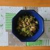 超簡単、野菜を使った小さなおかず《大根葉のじゃこ炒め》