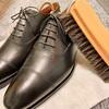 靴磨き箱新調! 観光バス運転士と革靴