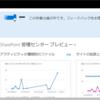 Office365 SharePoint Onlineの管理センターが新しくなっていました