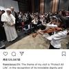 フランシスコ教皇の「東日本大震災被災者の集い」でスズキ・メソードの先生と生徒が音楽部門を担当しました。