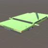 Unityシェーダー:3Dモデルをペッタンコにするシェーダを組む