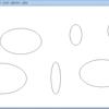 マウスで円を描くコード