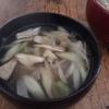 ミョウガの味噌汁とか、鮭ご飯、とか