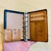 コードバンの財布をリメイク!マイクロ5(M5)システム手帳に作り替えて長く楽しむ。
