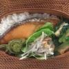 塩鮭と小松菜のおひたし