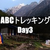 【ネパール】ABCトレッキング Day3